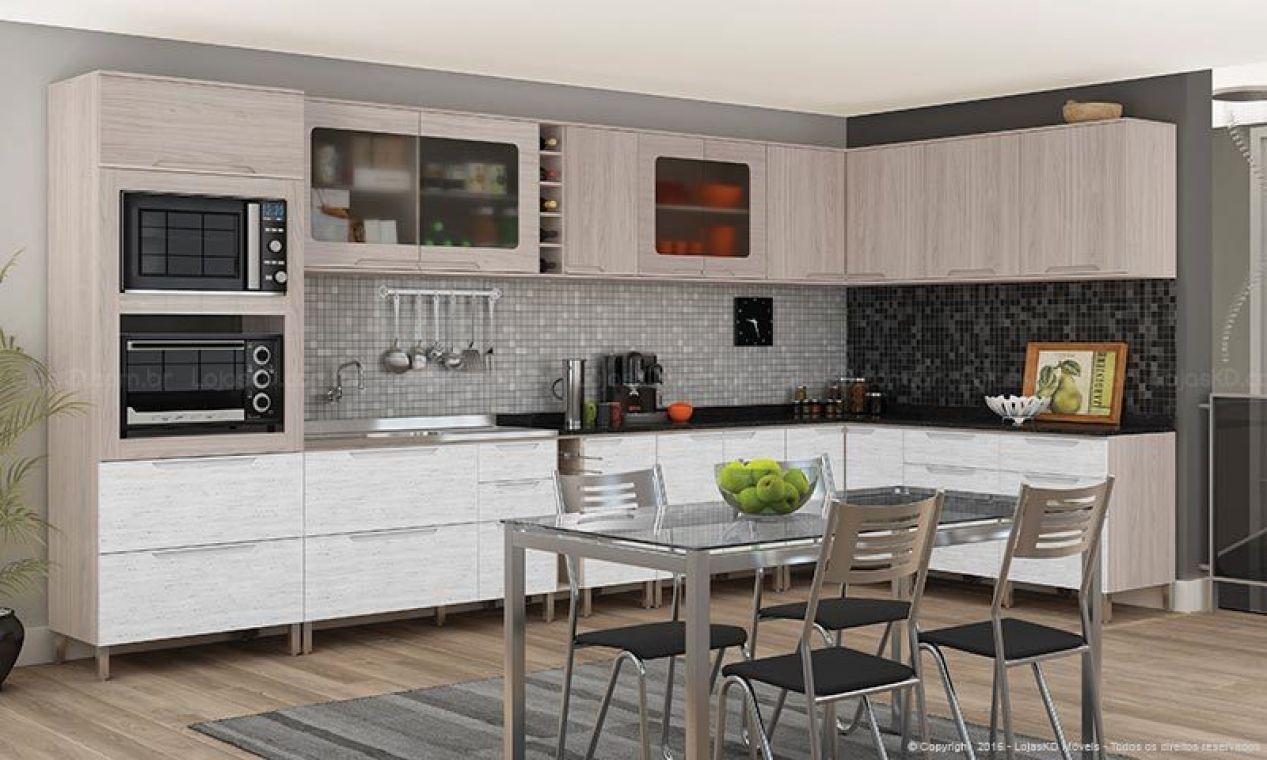 Cozinha Pequena Completa Mveis Cozinha Compacta Com Balco Itlia