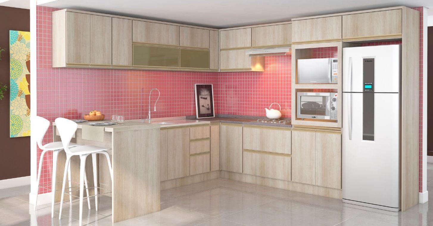 Cozinha Modulada Tulipa Caloma M Veis Catarinense Desde 1989  ~ Armarios De Cozinha Modulado